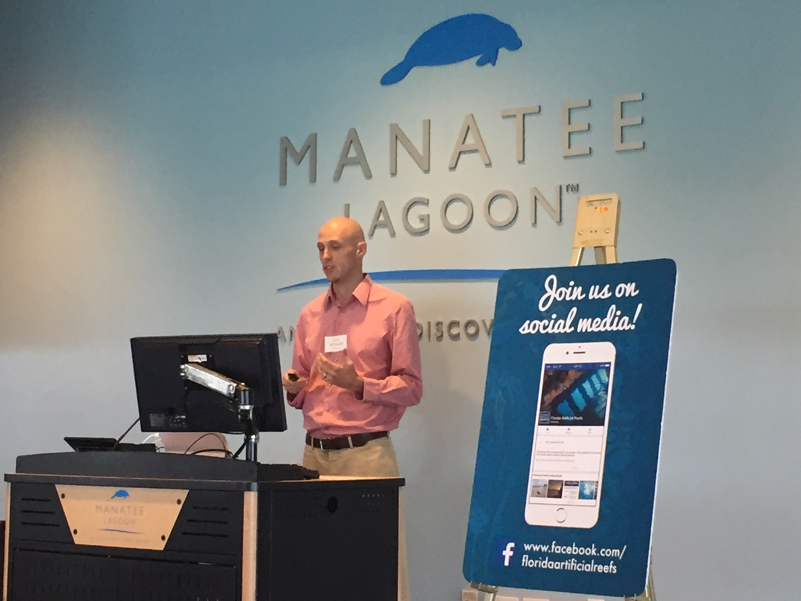 Reef Smart presents at the 2018 Southeast Artificial Reefs Workshop