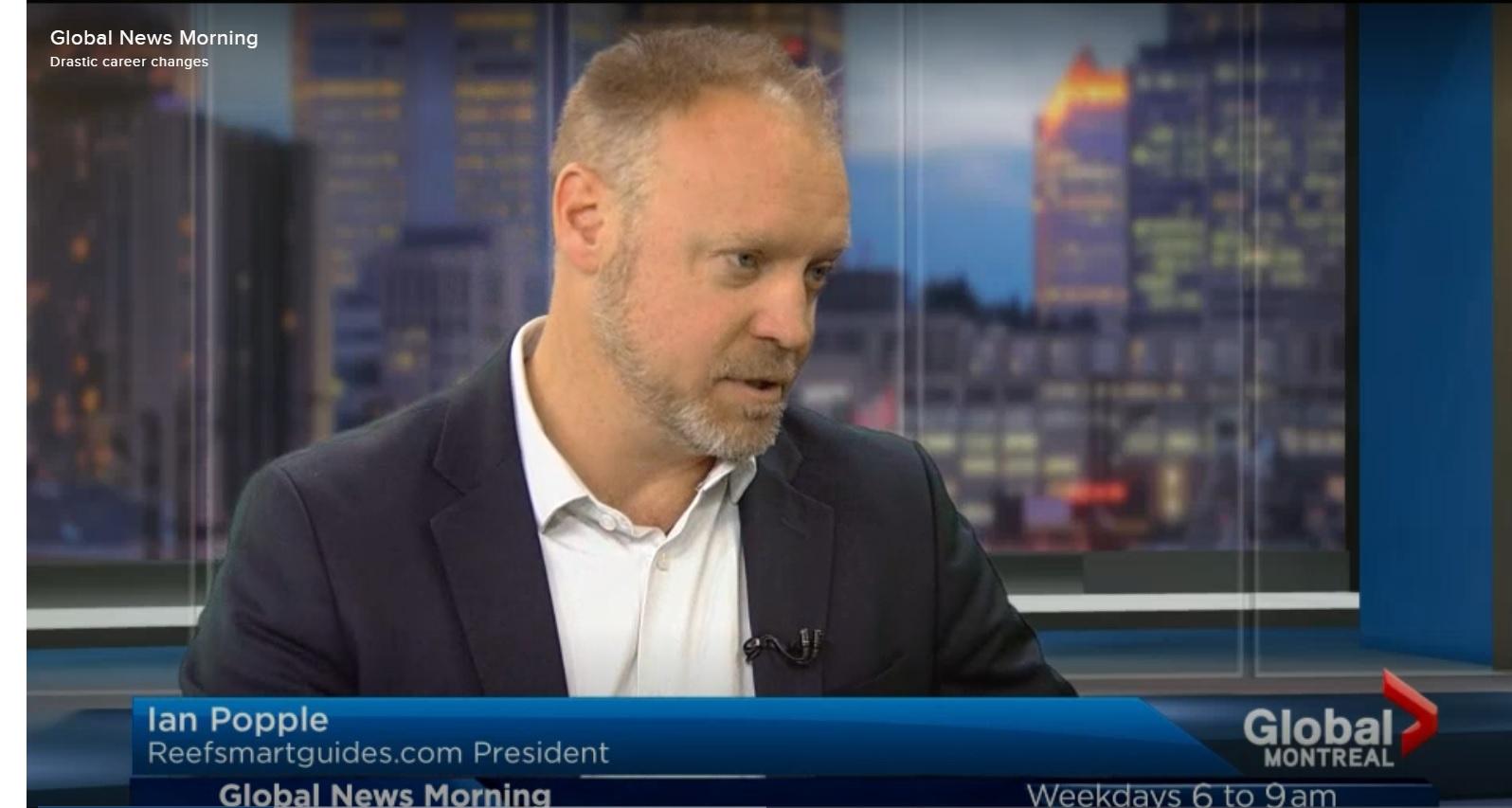 Ian Popple interviewed by Global TV News