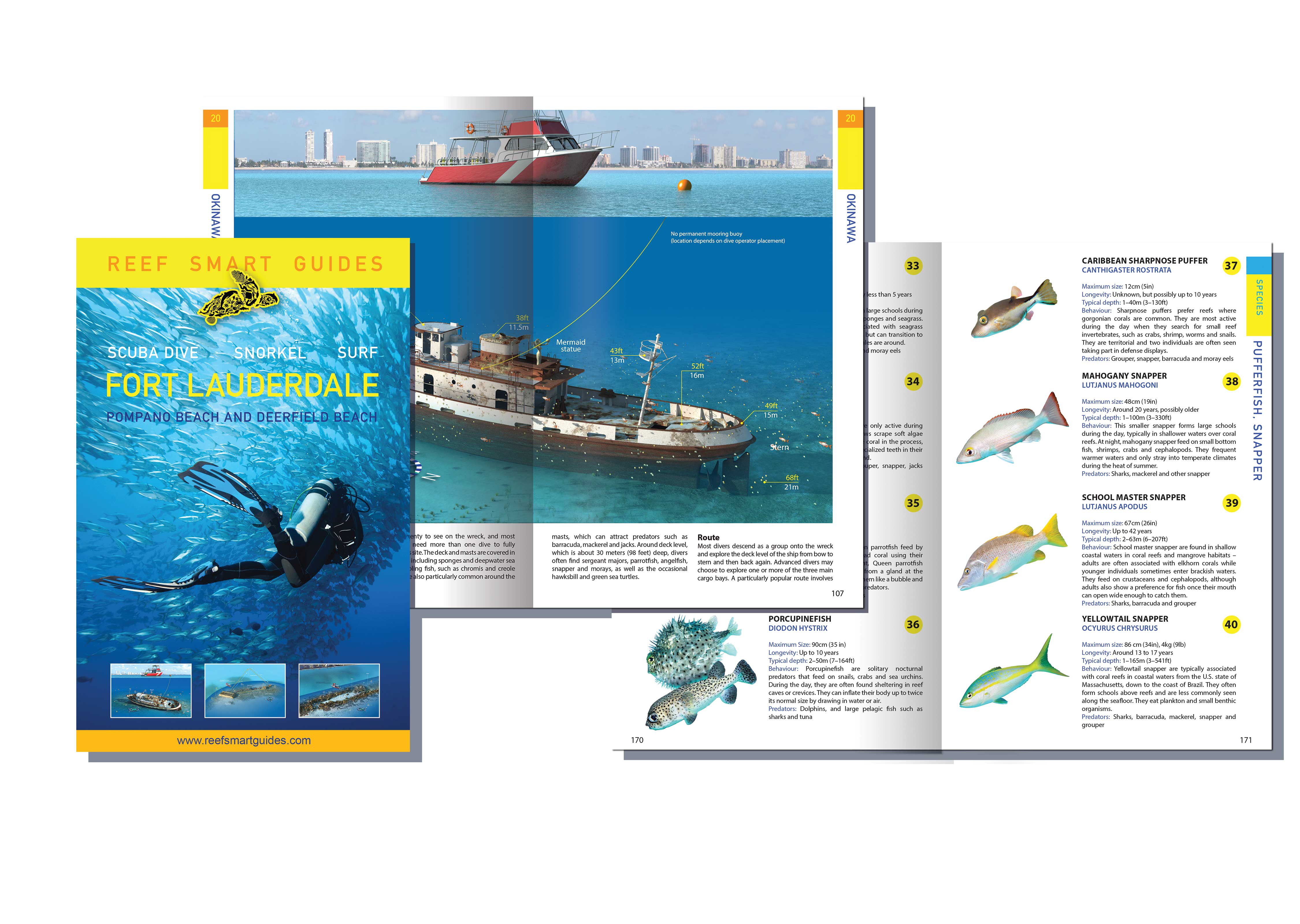 Fort Lauderdale dive, snorkel and surf guidebook now available for pre-order
