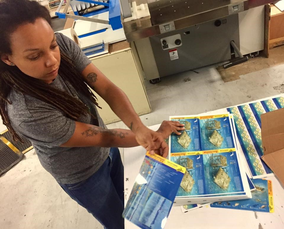 New waterproof cards available for sites in Palau, Bonaire and Southern Florida